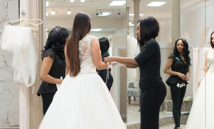 Gown fitting