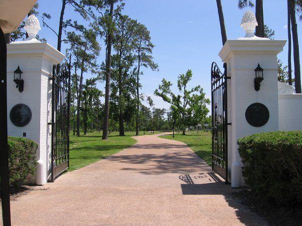 The Brown Estate's gate