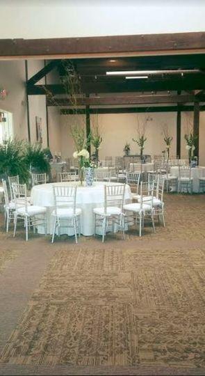 Indoor reception area