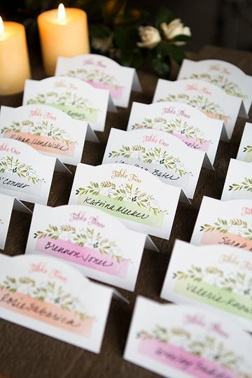 escort table place cards from www evermine com0106