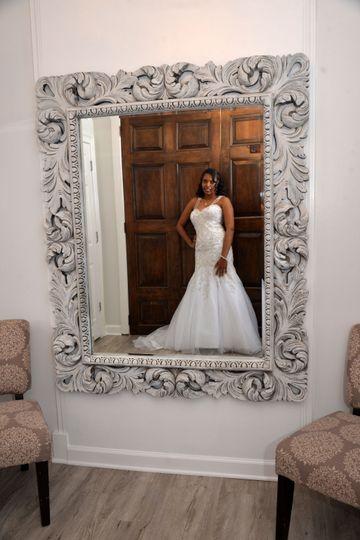 Bridal room mirror