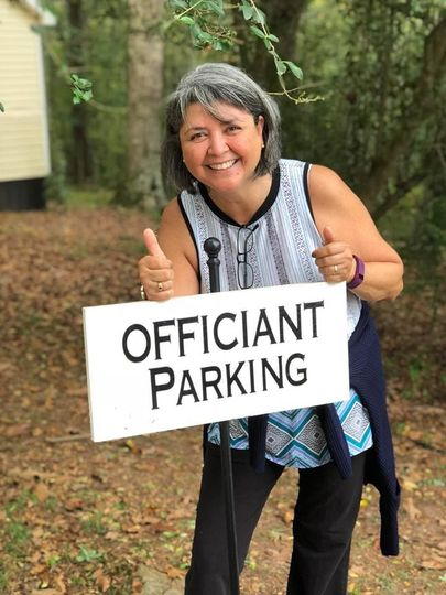 Officiant parking