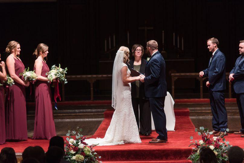 Mike & krystal's wedding   photography by jennifer weinman photography. Wedding officiant, denise...