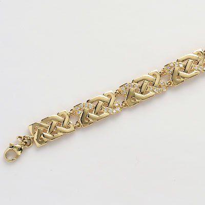 Beautiful Diamond Set Celtic Knot Bracelet.