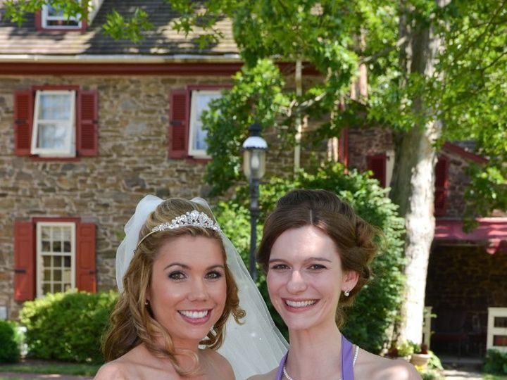 Tmx 1361654598283 TallamoreBrdandmaidwithBQs Cherry Hill wedding florist