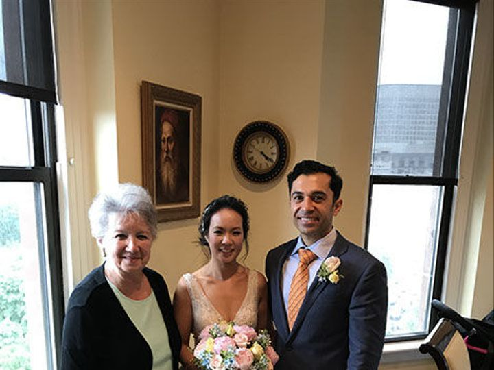 Tmx 1526408182 6d50e4fe9704e923 1526408181 95afb5a48ad6c34b 1526408179729 3 Rosaria2 Boston, Massachusetts wedding officiant