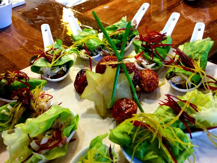 Tmx 1414101245713 Island Chicken Lettuce Wraps Cater Gourmet Montpelier wedding catering