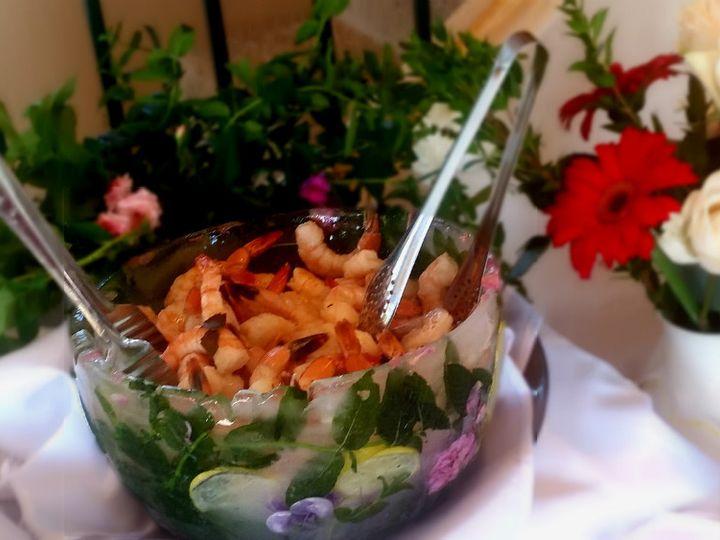 Tmx 1414101354134 Ice Bowl Shrimp Cocktail Montpelier wedding catering