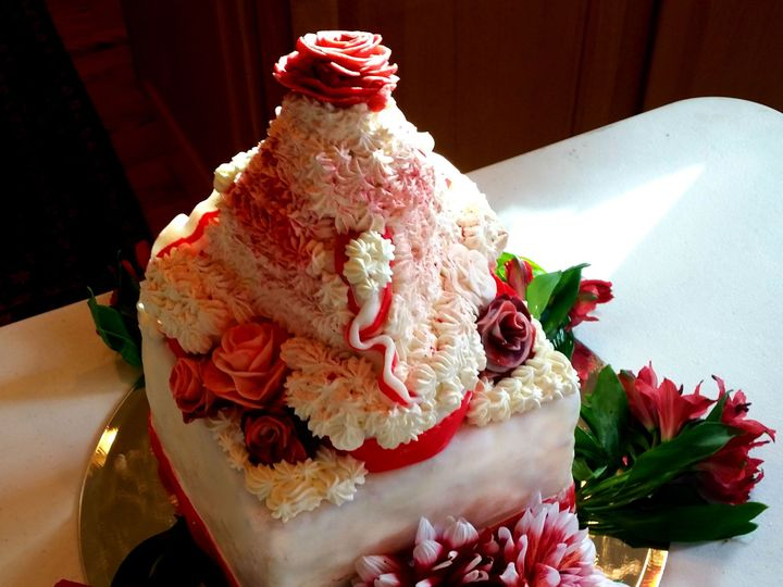 Tmx 1414311931525 Chocolate Cake Chocolate Buttercream Inside Vanill Montpelier wedding catering