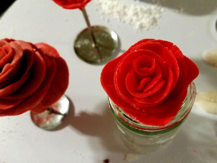 Tmx 1414311949577 Fondant Roses Cater Gourmet Denver Montpelier wedding catering