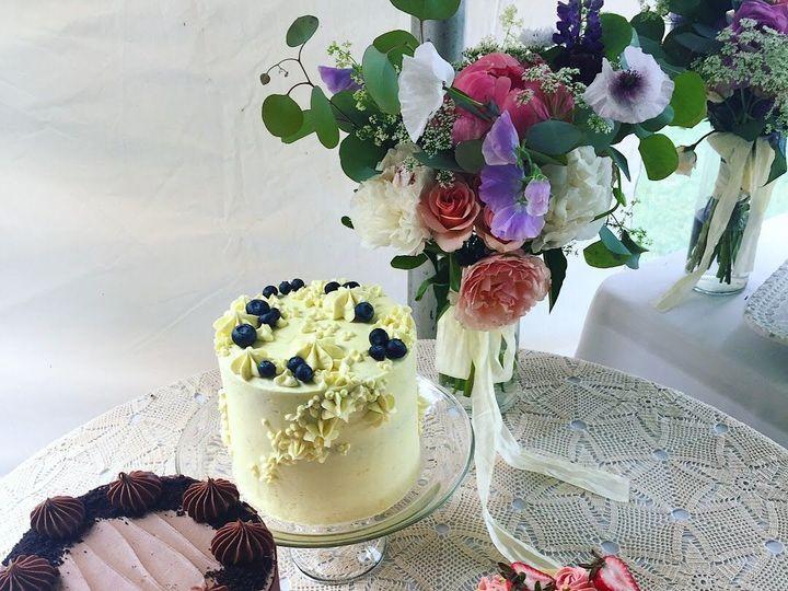 Tmx 1529862751 1becb11a506e1295 1529862749 9b9cb6fb24a411e6 1529862742469 5 IMG 0979 Shelburne, VT wedding cake