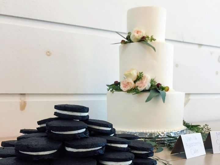 Tmx 1538356481 Dc132cf08f70b8a7 1538356479 E1c388511eaa1a6c 1538356478265 6 IMG 1591 Shelburne, VT wedding cake