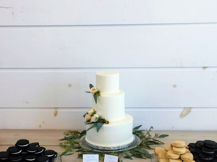 Tmx 1538356810 01e87322ac4c24d1 IMG 1577 Shelburne, VT wedding cake