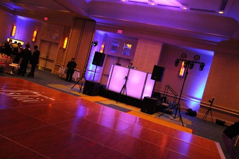 Event sample setup