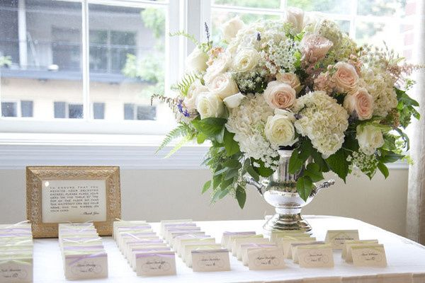 rachel escort card table