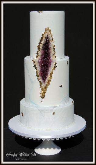 Geode - Wedding Cake Rental