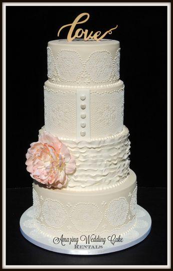 Lace - Wedding Cake Rental