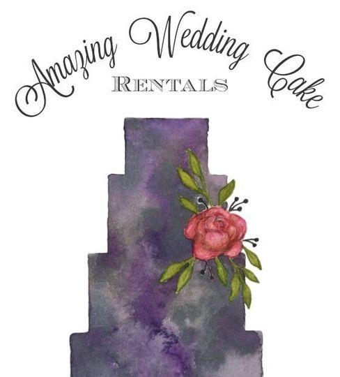 c55cbce202e0f0cb Amazing Wedding Cake Rentals Business Logo 2