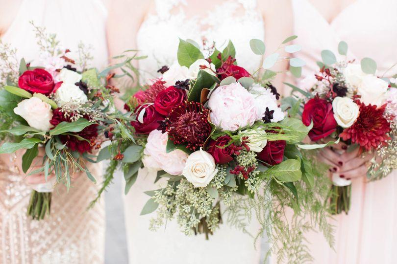 sarah tyler bridal party 0064 bouquets