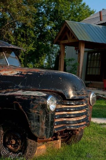 1952 antique Chevy is perfect for photos