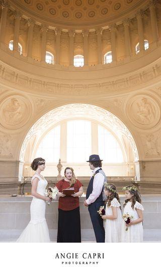 san francisco city hall creative wedding elopement