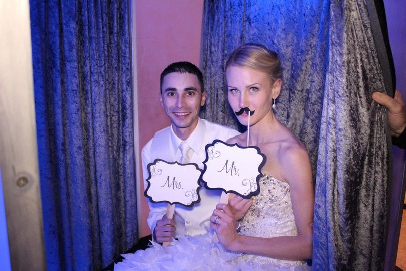 Photo booth at addison park
