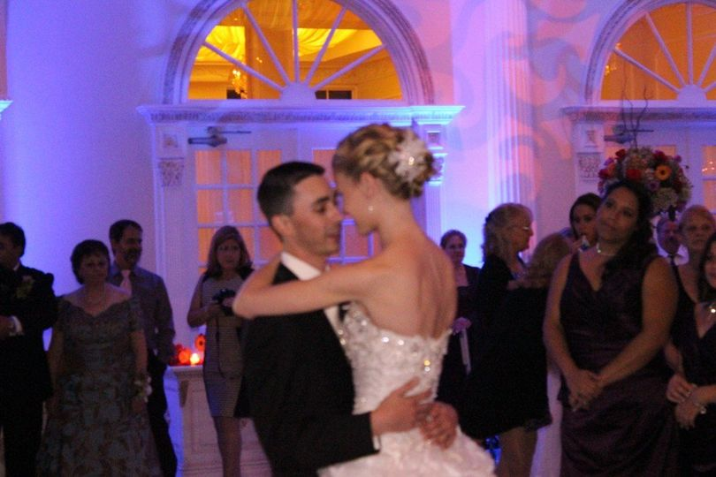 First dance at Addison Park