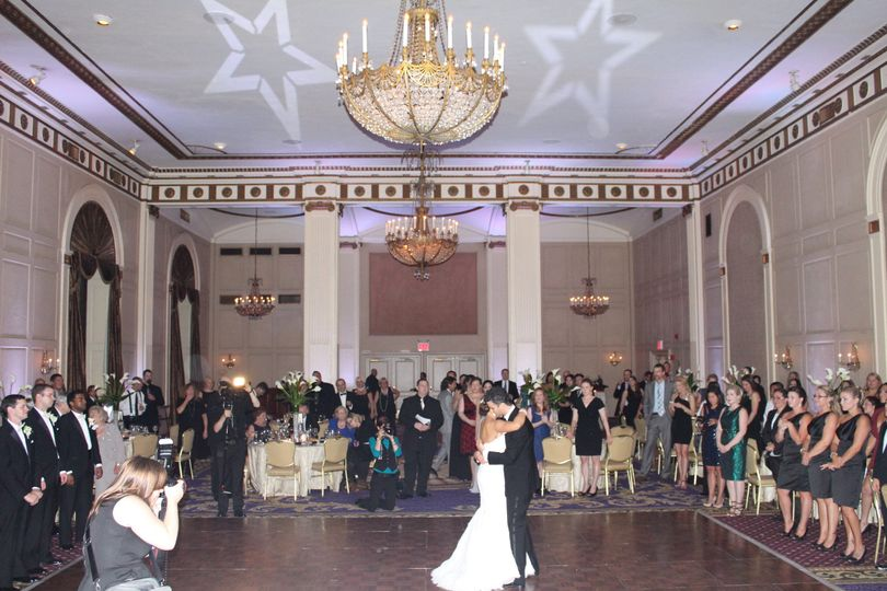 Wedding at the roosevelt hotel