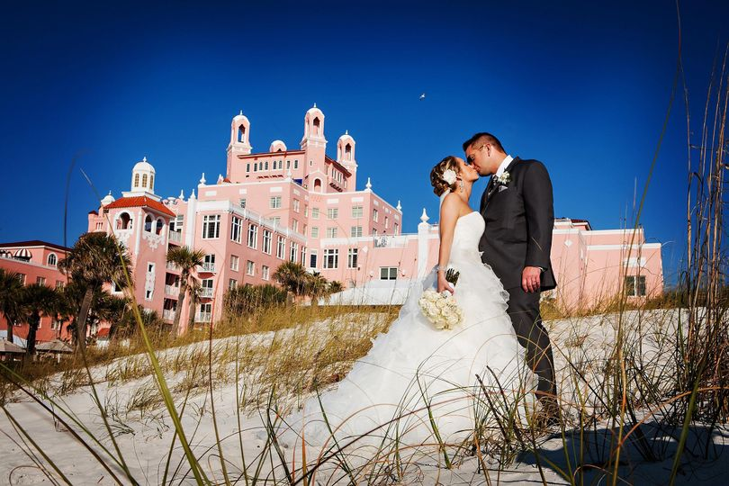 Katie & Casey at The Don Cesar St. Pete, FL