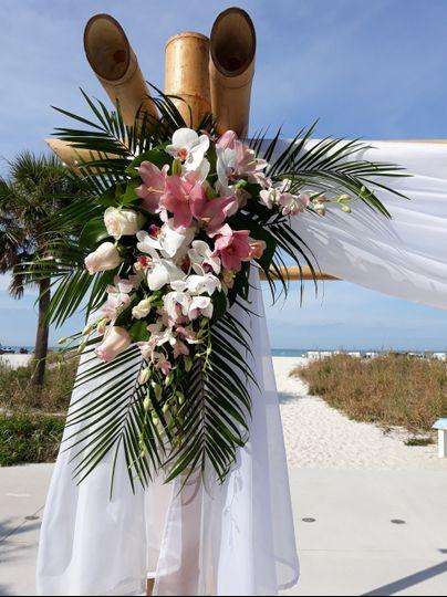 Tropical ceremony