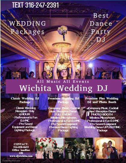 Best Wedding DJ Wichita Flyer