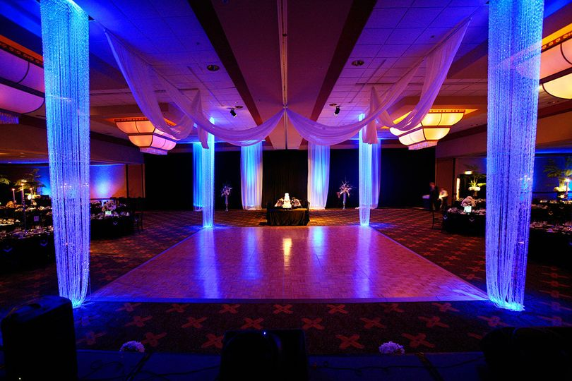 Wichita Wedding DJ Light Floor