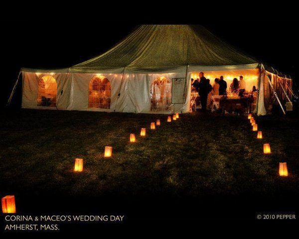 Tented Wedding in Massachussets