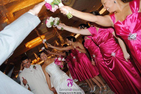 Venue: Milan's In Garfield- Entire wedding designed by us.