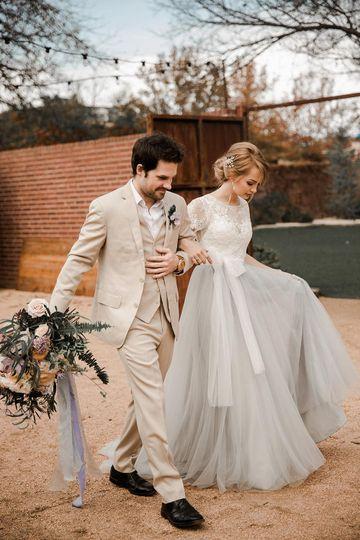 Something blue wedding