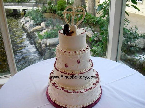 Tmx 1306087665943 4tierweddingcakeHR West Hills wedding cake