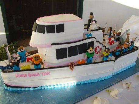 Tmx 1306087673709 FishingBoat2 West Hills wedding cake