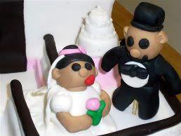 Tmx 1306087674537 FishingBoatBrideandGroomonBoat1 West Hills wedding cake