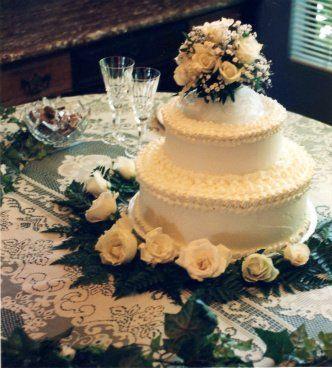 Tmx 1306087691084 WeddingCake2tiers009 West Hills wedding cake