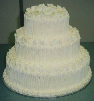 Tmx 1306087694771 WeddingCake3tierround002 West Hills wedding cake