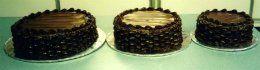 Tmx 1306087702427 WeddingCakeChocolateBasketweave006 West Hills wedding cake