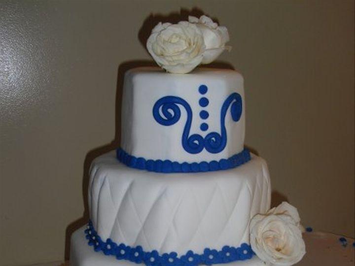 Tmx 1306087706271 WeddingCakeOctagonHR West Hills wedding cake