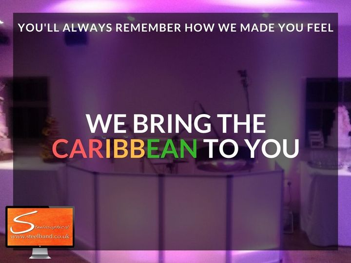 "Steelasophical Steel Band & Dj ""we bring the Caribbean to you"""