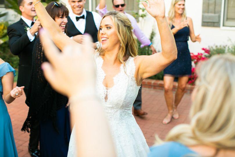 AMS Events dancing bride