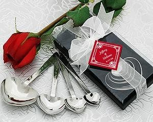"""Love Beyond Measure"" Heart-Shaped Measuring Spoons in Gift Box