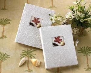 """Beach Memories"" Guest Photo Album Favors
