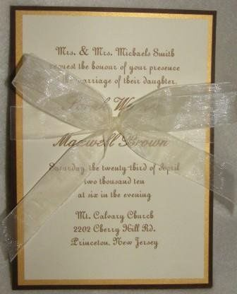 Tmx 1268971020054 Sheila Carlisle wedding invitation
