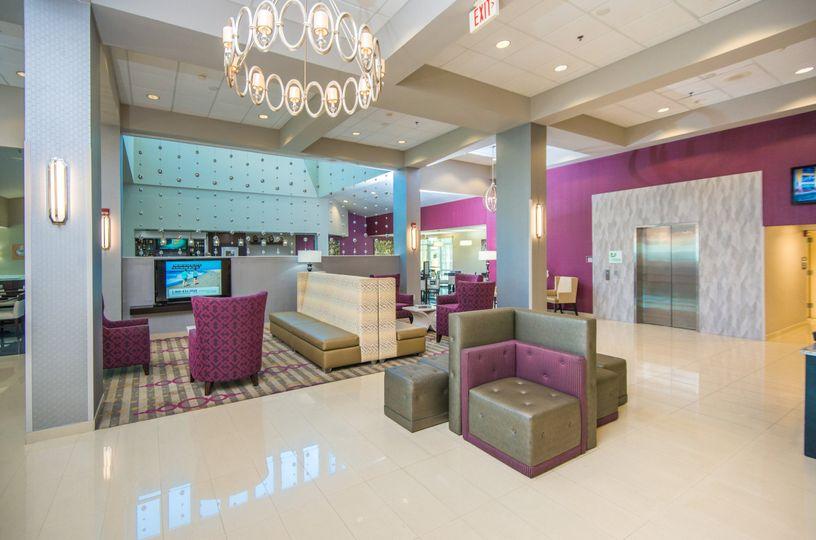 Newly renovated Hotel Lobby