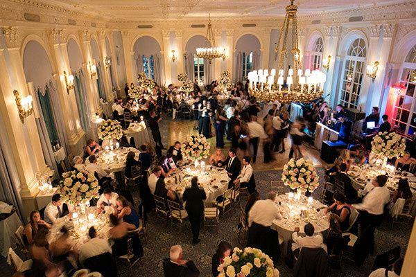ballroom reception with guests 2017