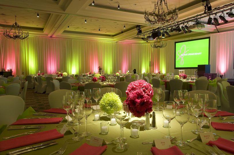 event lighting rental dc